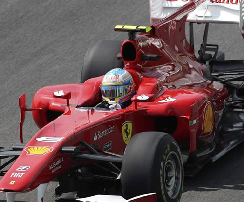 Alonso rompe motor en Interlagos