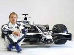 Nico Rosberg piloto de Williams