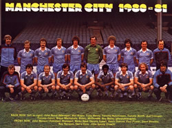 Manchester City 1980 - 1981