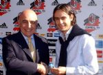 Inzaghi y Galliani