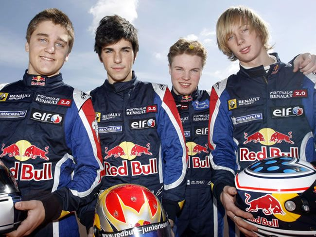 Brendon Hartley y equipo Red Bull