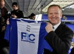 Alex McLeish con la camiseta del Birmingham City