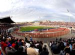 Los tifosis del Catania en el estadio del club