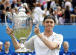 Sam Querrey ganador de la final de Queens