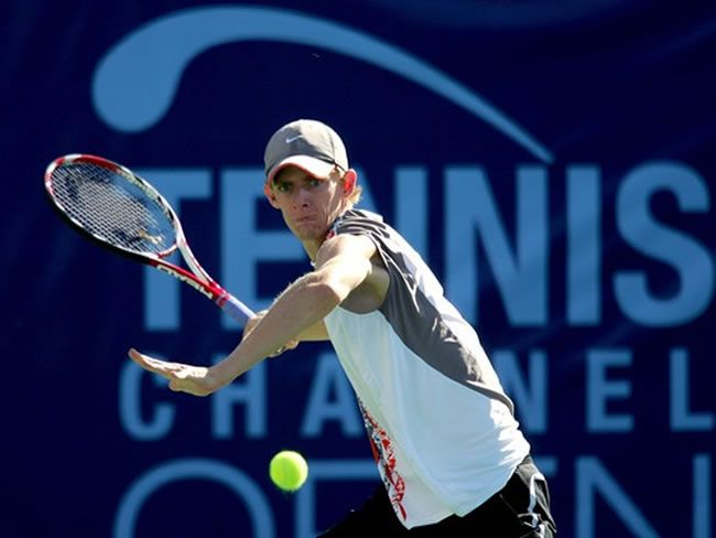 Kevin Anderson en el Tennis Channel Open