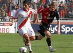 Diego Mateo frente a River Plate