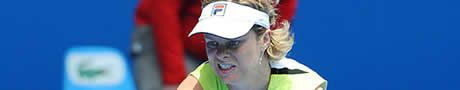 Clijsters sigue en buen camino en la defensa del título