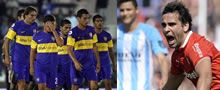 Incidentes tras derrotas del Boca y el Racing